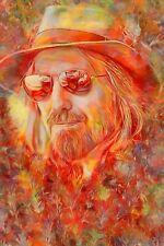 "Tom Petty Tribute Poster/Metal Art ""Wildflowers"" Free Shipping!"