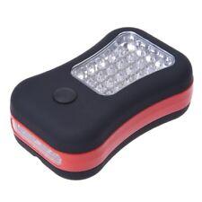Luz de Trabajo 28 LED para coche Linterna con Gancho y iman W5E9