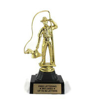 Fisherman Trophy- Fishing- Angler- Catch- Desktop Series- Free Lettering