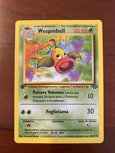 Weepinbell 48/64 1st Edition Jungle Set MINT- Italian