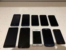 10 X Faulty Smart Phone, iPhone, Samsung, HTC, Motorola, MI, Pl Read Description