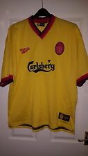 "Mens Football Shirt - Liverpool FC - Reebok - Away 1997-99 - 46/48"" - RARE RETRO"