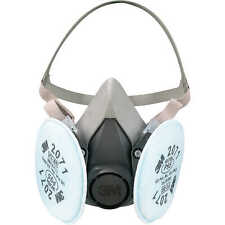 3m 6300 Half Facepiece Respirator With 2 Ea 3m 2071 Filter Cartridge Size Large
