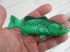 Vintage Deluxe Plastic Fishing Fish Call - NOVELTY GAG GIFT in Original Package
