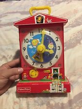Mattel (2009) Fisher Price Toys Music Box Teaching Clock 998