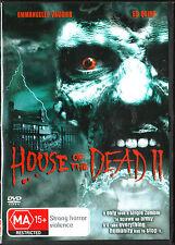 House of the Dead 2 = EMMANUELLE VAUGIER = REGION 4 AUSTRALIAN RELEASE
