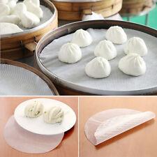 Reusable 24cm Round Silicone Steamer Pad Stuffed Bun Bread Pad Dumplings Mat
