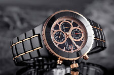 BISSET BSFE10 CHRONOGRAPH CERAMIC 10 ATM SWISS MADE Men's  Watches