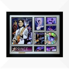 Prince Nelson Signed & Framed Memorabilia - 1CD - Silver/Black Limited Edition