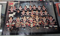 #T77.  1976  RUGBY LEAGUE EASTERN SUBURBS MAGAZINE, WALL POSTER