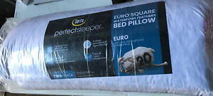 🌎 Serta PerfectSleeper, Euro Square, Bed Pillow 26 In.x26 Warerfowl‼️