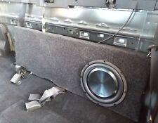 "Nissan Navara NP300 D23 10inch custom fibreglass subwoofer box - 10"" sub"