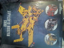 WARHAMMER 40K ORK WAZBOM BLASTAJET - NEW AND SEALED