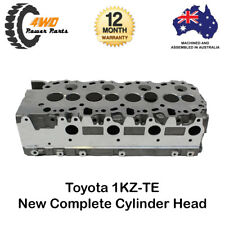 Toyota Hilux 1KZ-TE New Complete Cylinder Head 4 Cyl 8V SOHC Assembled 1999-2005