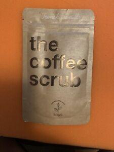 The Coffee Scrub in French Vanilla Body Scrub- Organic Feelings 50g Sealed Qty 1