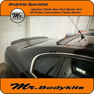 MR INJECTION PLASTIC REAR WINDOW ROOF SPOILER WING-HOLDEN VE COMMODORE/568