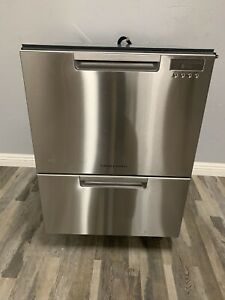 "Fisher Paykel DD24DCTX9N 24"" Stainless Full Console Dishwasher T2 HRT"