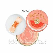 Shiseido MAJOLICA MAJORCA Puff de Cheek Flower Harmony Blush RD303 Mandarin Mix