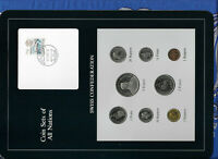 Coin Sets of All Nations Switzerland 1984-1988 UNC 5 Francs 1987 12.5.87