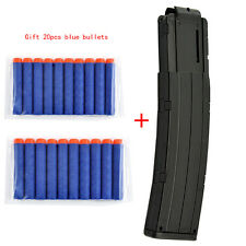 Worker Mod 22-darts Magazine Quick Reload Clip For Nerf N-strike Elite Toy