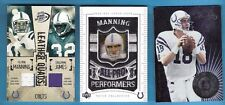 PEYTON MANNING MARVIN HARRISON E James REGGIE WAYNE GU JERSEY PATCH CARD #d25 +2