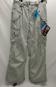 686 Smart Original Cargo Snowboard Pants Men's Grey 3n1 XL NEW