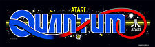 Quantum Atari Arcade Marquee For Reproduction Header/Backlit Sign