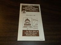 MARCH 1956 NEW HAVEN RAILROAD FRANKLIN/NORFOLK OFFICIAL TIMETABLE FORM 36