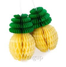 Novelty Pineapple Honeycomb Paper Ball Summer Party Home Garden Birthday Decor