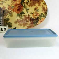 More details for retro kitchen - tupperware stackable rectangular box. cold cut meat & cheese.