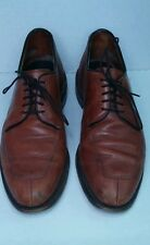 SHOES MEN'S ALLEN EDMONDS SIZE 7 D delray PRE OWNED nice used