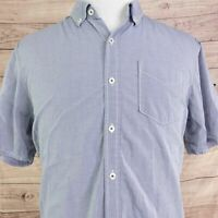 TOMMY BAHAMA JEANS ISLAND MODERN FIT SHORT SLEEVE BUTTON UP SHIRT MENS SIZE L