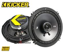 """Kicker 43CSC654 6.5"""" 4-Ohm 100 Watt Rms Co-Axial Speaker Rear Speaker"""