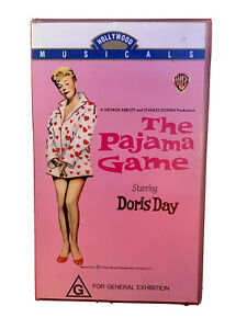 The Pajama Game Movie VHS  Retro Vintage Video Cassette