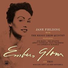 Jane Fielding: Embers Glow + Jazz Trio For Voice, Piano And String Bass