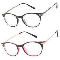 Women Cat Eye Reading Glasses Scarlette Style Spring Hinge Vintage Frame Readers