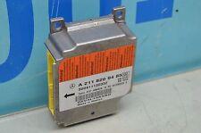 06-09 W219 MERCEDES BENZ CLS55 CLS500 SRS MODULE AIRBAG 2118209485