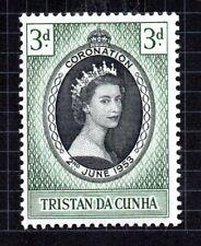 Tristan Da Cunha 1953 Coronation Queen Elizabeth MLH #13