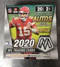 2020 Panini NFL Mosaic Mega Box. Brand New And Sealed. Ships Free.