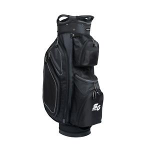 Stinger Light Weight Golf Cart Bag with Rain Hood High Quality - Black / Grey