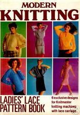 Knitting Machine Lace Pattern Collection