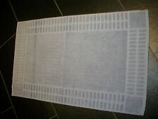Badteppich Badvorleger Duschvorleger XXL Frottier 1.000 gr. silber 50 x 80 cm