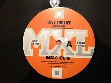 "BASS CULTURE featuring GEENA G - LOVE THE LIFE - 1992 Aus 12"" Vinyl HOUSE VG+/NM"