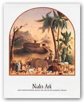 RELIGIOUS ART PRINT Noah's Ark Joseph Henry Hidley