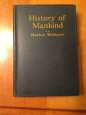 History Of Mankind By Hutton Webster