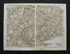 Antica Stampa=Topografica=VENEZIA =Scala1:10000 -1909c.