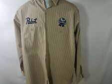 Large Used Pabst Beer Work Shirt (053)