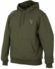 New Fox Collection Green Silver Hoody Hoodie All sizes - Carp Fishing