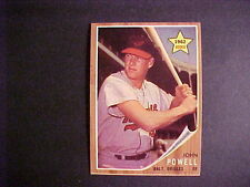 1962 TOPPS BASEBALL # 99  BOOG  POWELL  (R)   NM++