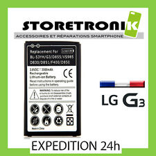 BATTERIE INTERNE 3500mAh POUR LG G3 BL-53YH D855 D830 D851 F400 D850